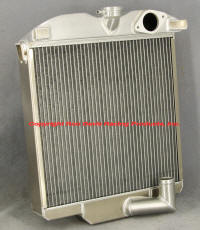 Jaguar XK 120 Radiator, custom aluminum radiator
