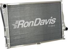 2001- 2006 BMW E 46 M3 Type Radiator; custom aluminum radiator; BMW radiator